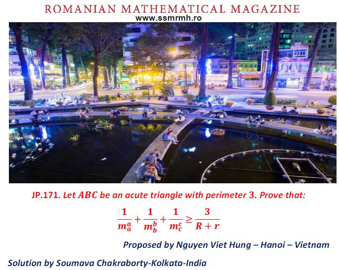 SOLUTION JP171-RMM SPRING EDITION 2019 – Romanian