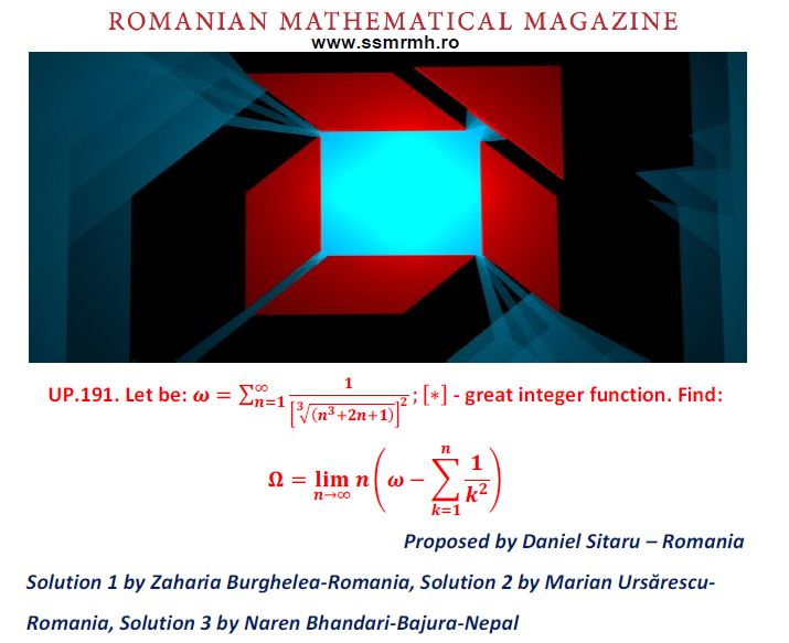 SOLUTION UP191-RMM SUMMER EDITION 2019 – Romanian